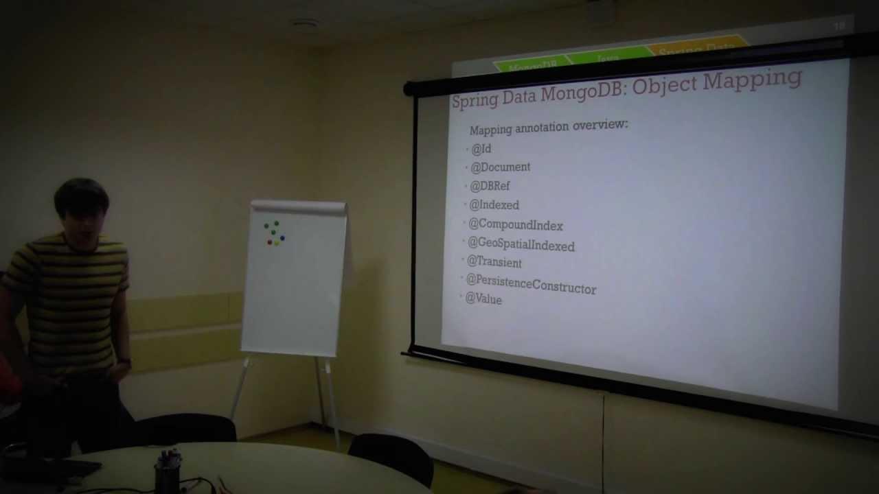 MongoDB + Java + Spring Data with Anton Sulzhenko