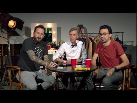 Geoff Ramsay & Gus Sorola on Bill Nye Saves The World (Rooster Teeth)
