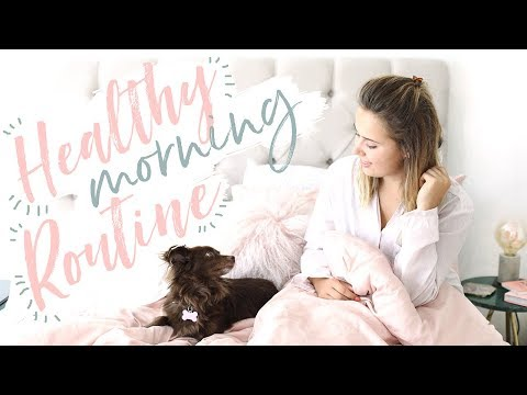 MORNING ROUTINE | Hello October