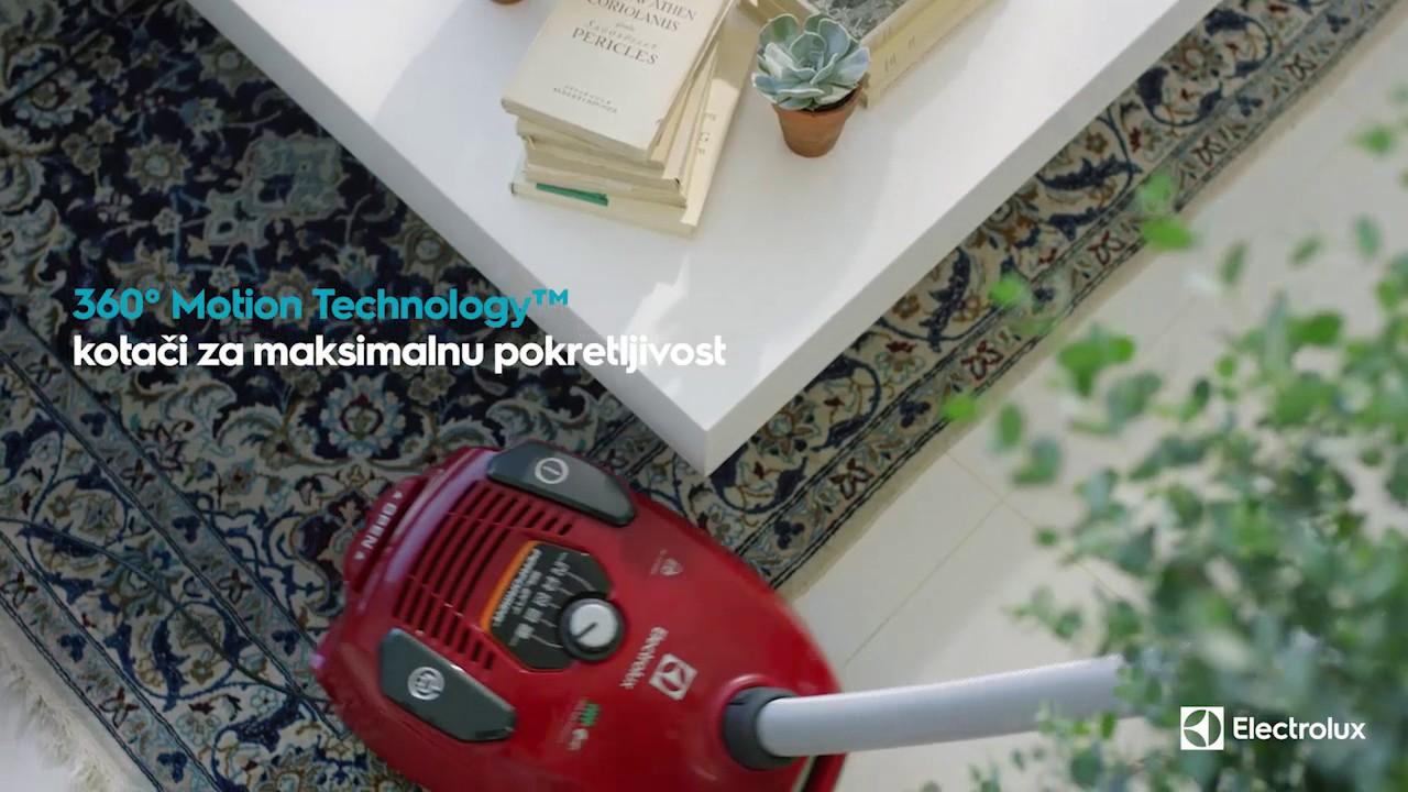 Fantastisk Electrolux Silent Performer - YouTube NP-39