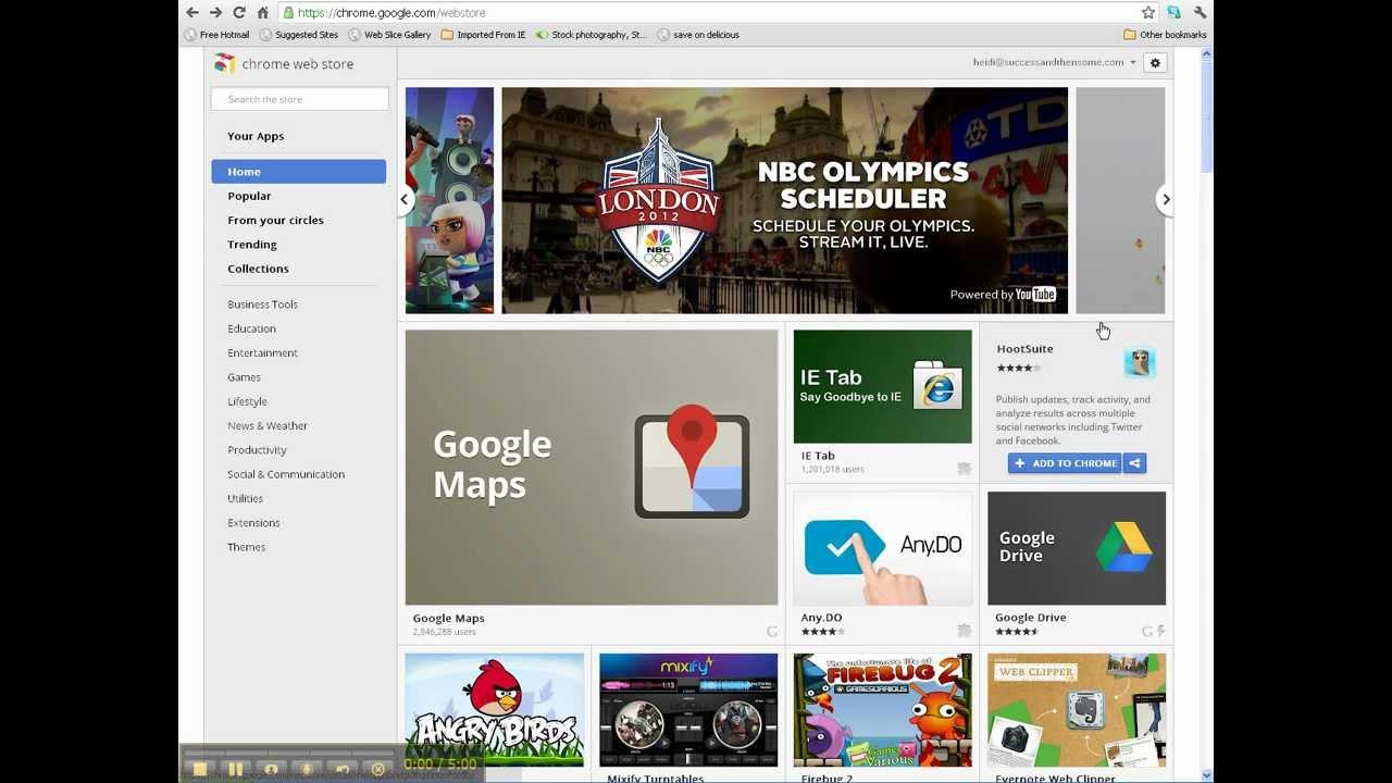 Google Chrome YouTube Video Downloader Tutorial - YouTube