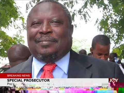 Special Prosecutor - The Pulse on JoyNews (11-1-18)