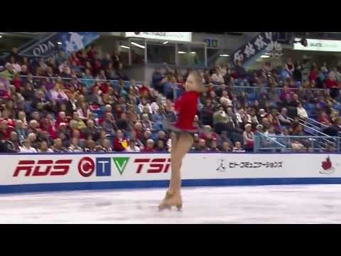 Touching performance of Olympic Gold Medalist* Yulia Lipnitskaya at 2013 Skate Canada