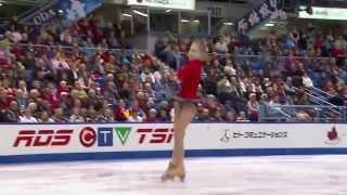 Repeat youtube video Touching performance of Olympic Gold Medalist* Yulia Lipnitskaya at 2013 Skate Canada