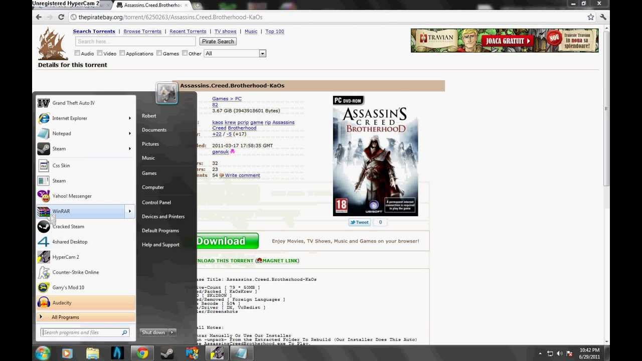 Assassins Creed Brotherhood Full Game Free Link :P