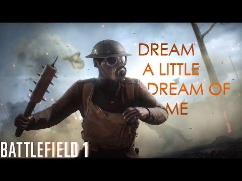 Margot Bingham - Dream A Little Dream Of Me (BF1 Single Player Gameplay Music)