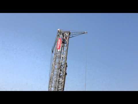 Akrobatik auf der Baustelle