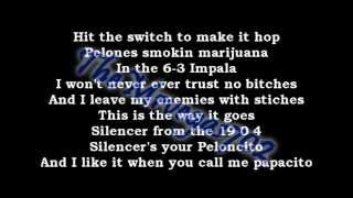 Califa Thugs- Be Rollin [With On Screen Lyrics] [HD]