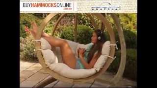 Amazonas Globo Hanging Chair With Stand Combo