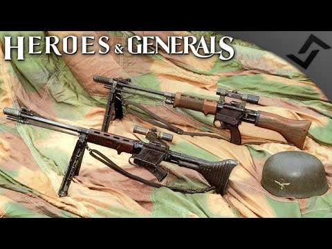 Scoped FG42 Massacre - Heroes & Generals - German Paratrooper Gameplay