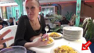 Molly Schuyler vs Juan in a Million taco RECORD | over 13 lbs | Big Texan Tour | Man vs Food