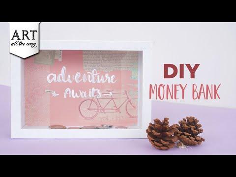 DIY Money Bank   Money Storage Box