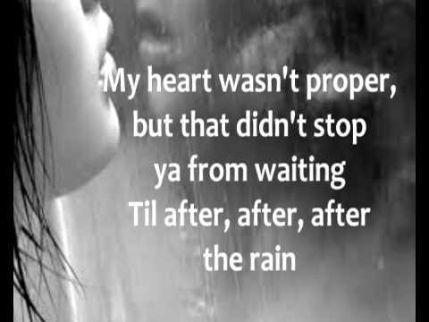 After The Rain // With Lyrics [August]