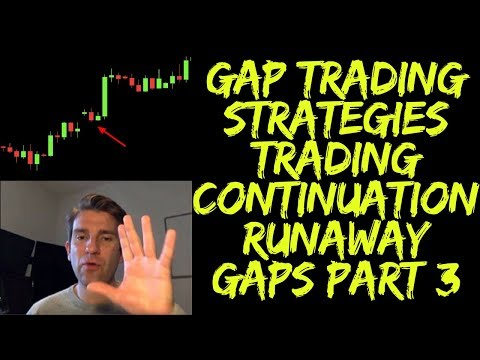 How to Trade Gaps: Trading Continuation with Runaway Gaps Part 3 ?