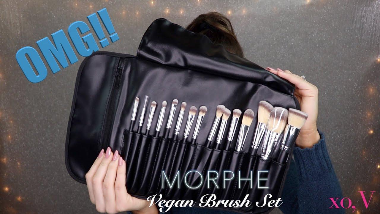 Morphe Vegan Brush Set Purple Eye Look James Charles Palette Youtube Последние твиты от morphe (@morphebrushes). youtube