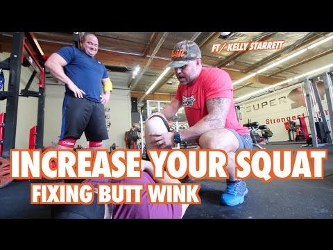 INCREASE YOUR SQUAT: How To Fix Butt Wink w/ Kelly Starrett- Supple Leopard