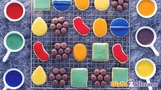 Candy Crush Cookies - Kid Friendly Recipes