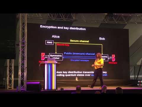Can quantum physics break cryptography