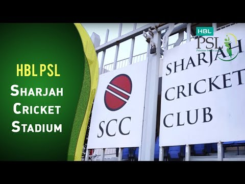 HBL PSL at the Sharjah Cricket Stadium