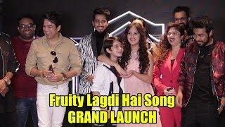 Fruity Lagdi Hai Song Launch Ramji Gulati Ft  Jannat Zubair & Mr Faisu