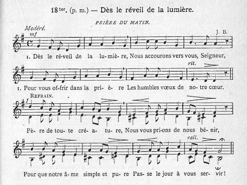 Préférence 029-Prière du matin, ou hymne Jam lucis (Dès le réveil de la  AW88