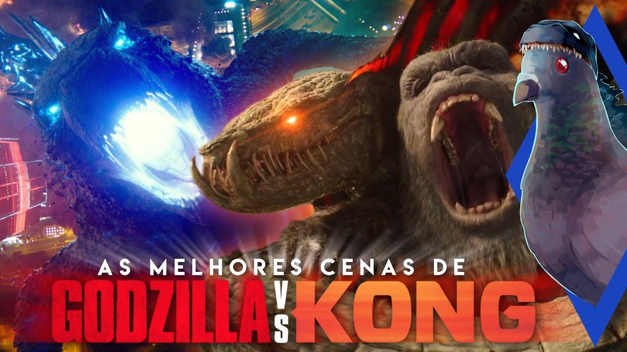 GODZILLA vs. KONG! As melhores cenas e momentos do filme!  – ArquivoZilla