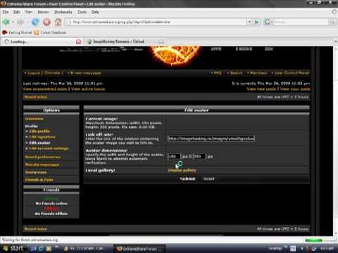 Cont Pe Forum.Avatar Si Semantura-ExtremeShare