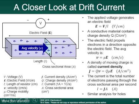Module 3C - Energy Bands and Carriers in Semiconductors