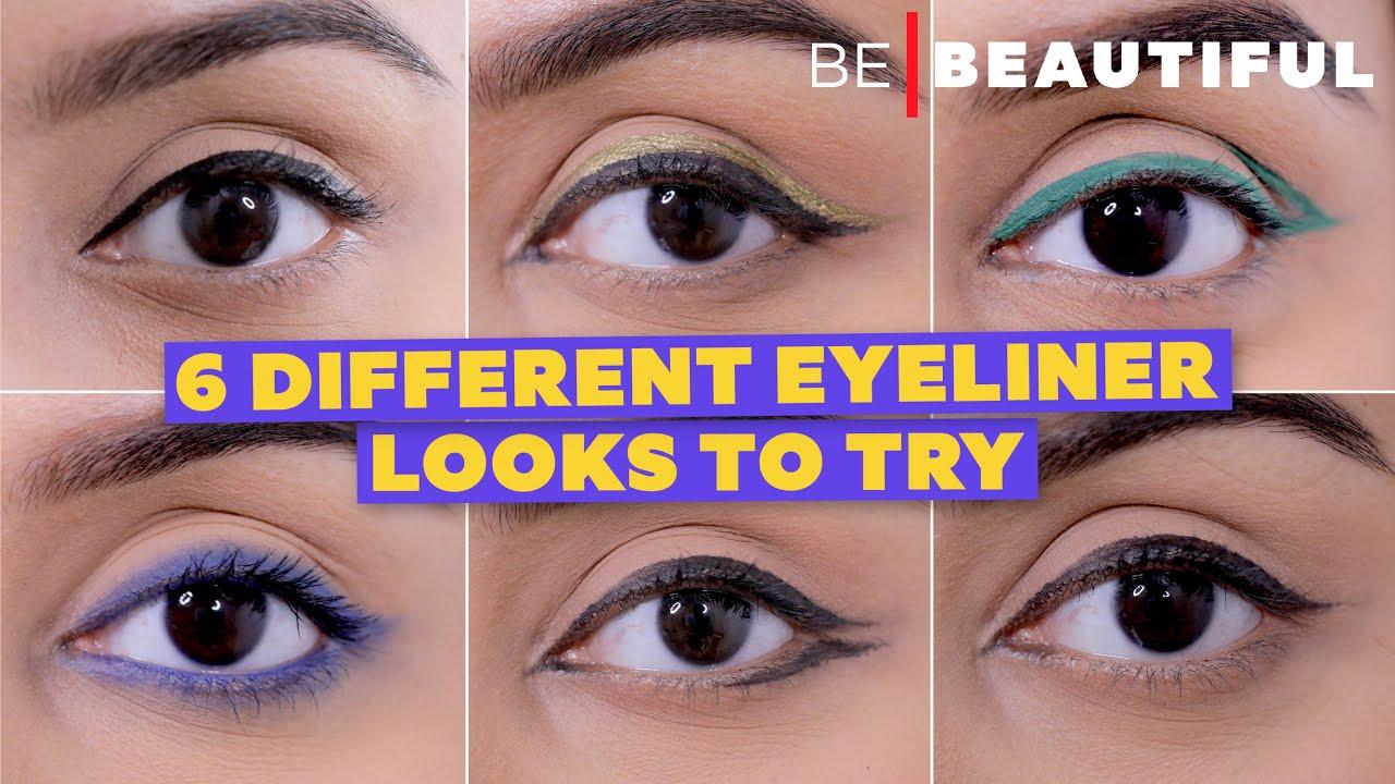 6 Trending Eyeliner Looks To Try | Step By Step Eyeliner Application Tutorial | Be Beautiful