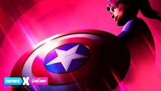 NEW ALL SKIN OF AVENGERS AND AMERICA'S CHAPTER IN FORTNITE (Avengers Endgame)