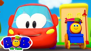 колеса на автобусе | музыка для малышей | потешки | Bob The Train Russia | детские песни