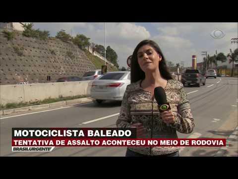 SP: Tentativa de assalto acontece no meio de rodovia