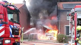 Flits – Brand Grotebrugse Grintweg in Tiel 05-12-20