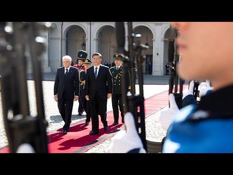 il Presidente Mattarella incontra il Presidente Xi Jinping