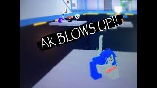 AK EXPLOSE! || Expérience en laboratoire (en anglais seulement) Roblox