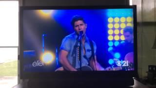 Dan and Shay sing on Ellen