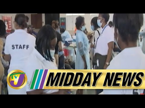 One Shot You're Covered J & J Vaccine Arrives | Lockdown Day 3 | TVJ Midday News - August 24 2021