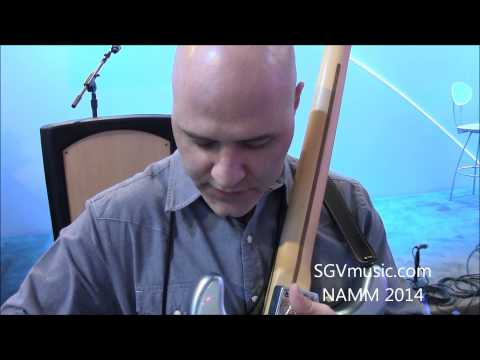 FENDER at 2014 NAMM show Debuts Amazing Technology!