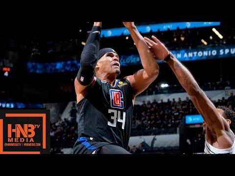 San Antonio Spurs vs LA Clippers Full Game Highlights   12.13.2018, NBA Season