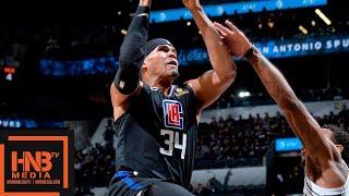 San Antonio Spurs vs LA Clippers Full Game Highlights | 12.13.2018, NBA Season