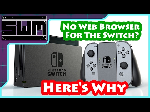 No Web Browser On The Nintendo Switch? Here