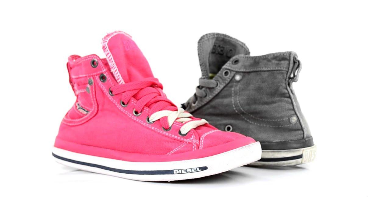 Diesel Women Footwear, Sneakers,Schuhe Magnete Exposure ...