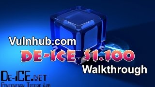 VulnHub.com Walkthrough: De-ICE: S1.100