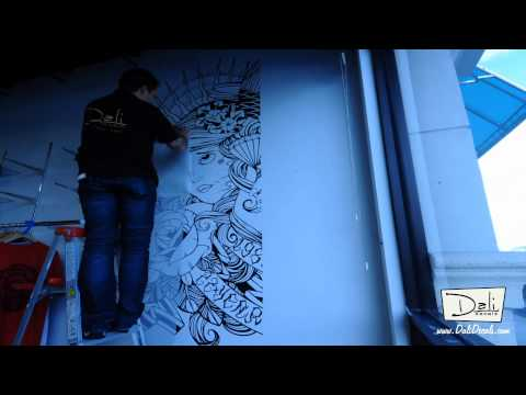 dali-wall-decals---custom-graphic-install-time-lapse