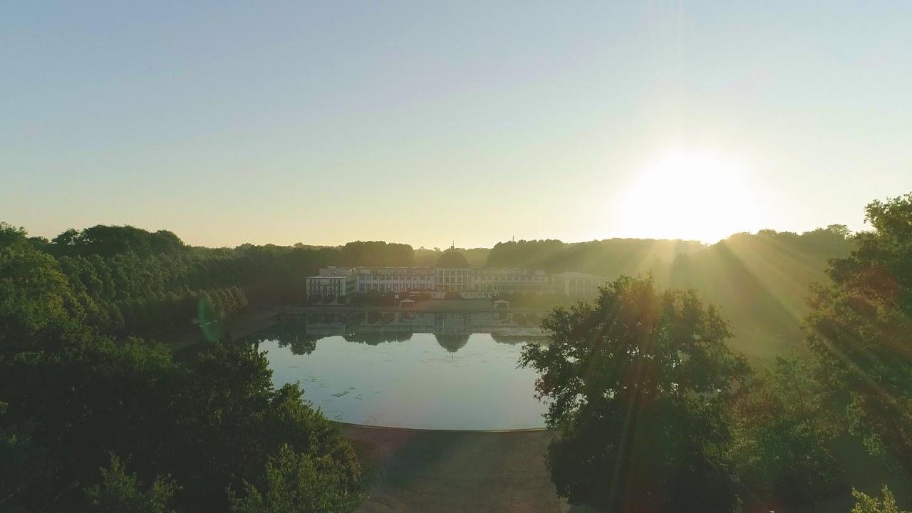 Bremer Parkhotel bei Sonnenaufgang 1