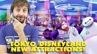 TOKYO DISNEYLAND NEW ATTRACTIONS COMING! - This Week In Disney # 31
