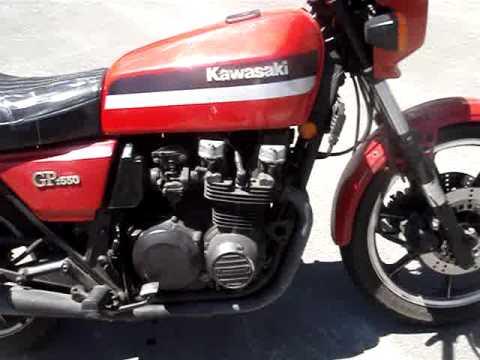 1981 kawasaki gpz 550 (KZ550 D1) - YouTube