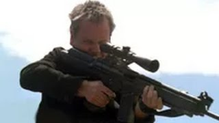 Jack Bauer killing spree at stadium - 24 Season 2 Finale