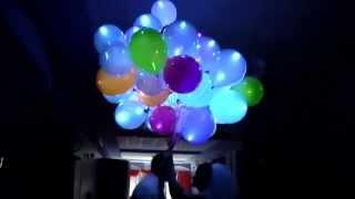 Запуск светящихся шаров на Свадьбе - заказать светящиеся шары в Киеве(, 2014-03-27T16:02:55.000Z)