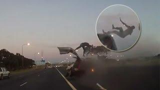 5 Schockierende Unfälle aufgenommen auf Kamera #4